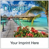 Mini Destination Dreams-13-Month Mini-Size Wall- #943