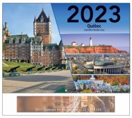 Le Quebec French Language 13 Month Full-size Wall Calendar - #5193
