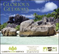 Glorious Getaways Stapled Wall Calendar #7225