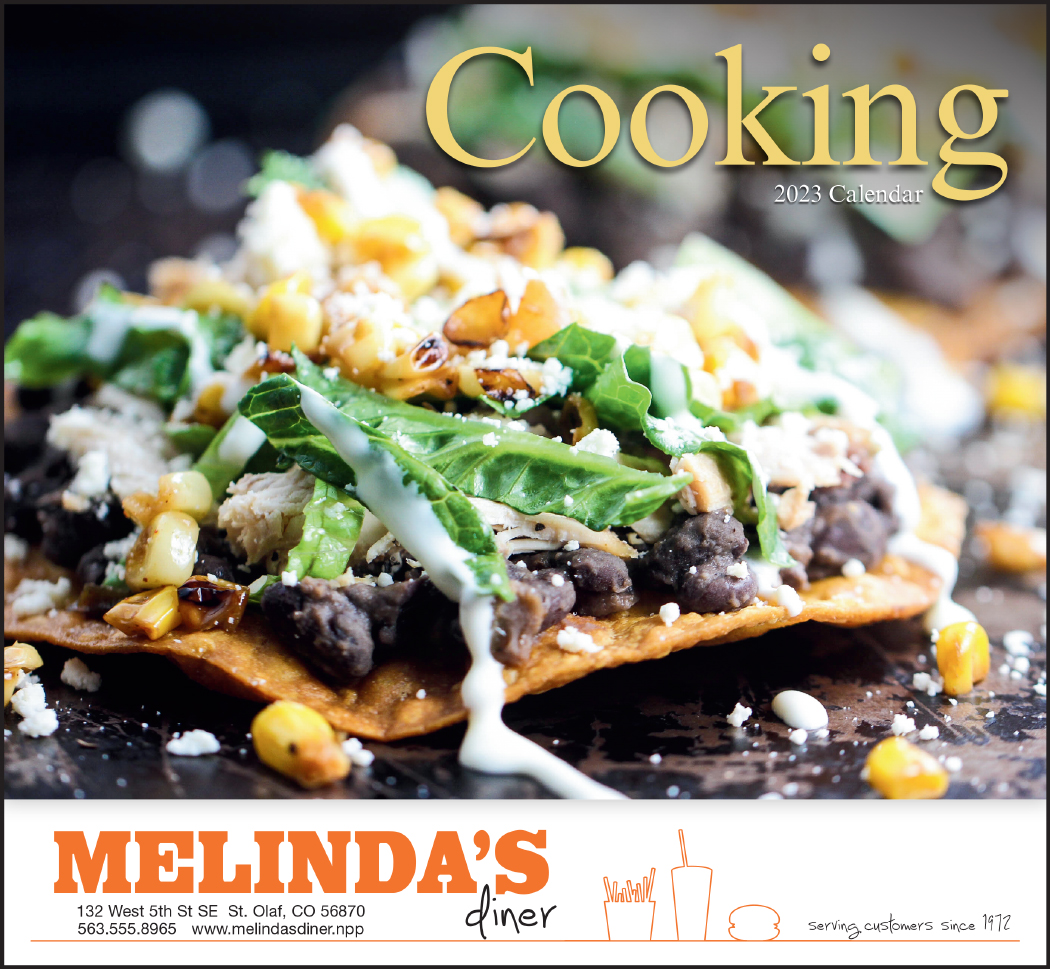 A Taste for Cooking-13-Month Full-Size Wall Calendar #827