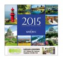 Le Quebec 13 Month Full-size Wall Calendar - #5193