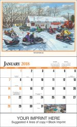 America Remembered 13-Month Full-Size Wall Calendar- #829