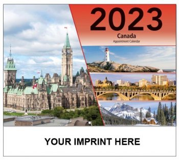 Canada 13 Month Full-size Wall Calendar - #5195