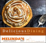 Delicious Dining Stapled Wall Calendar #7231