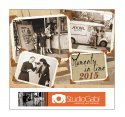Moments In Time 13 Month Full-size Wall Calendar- #4625
